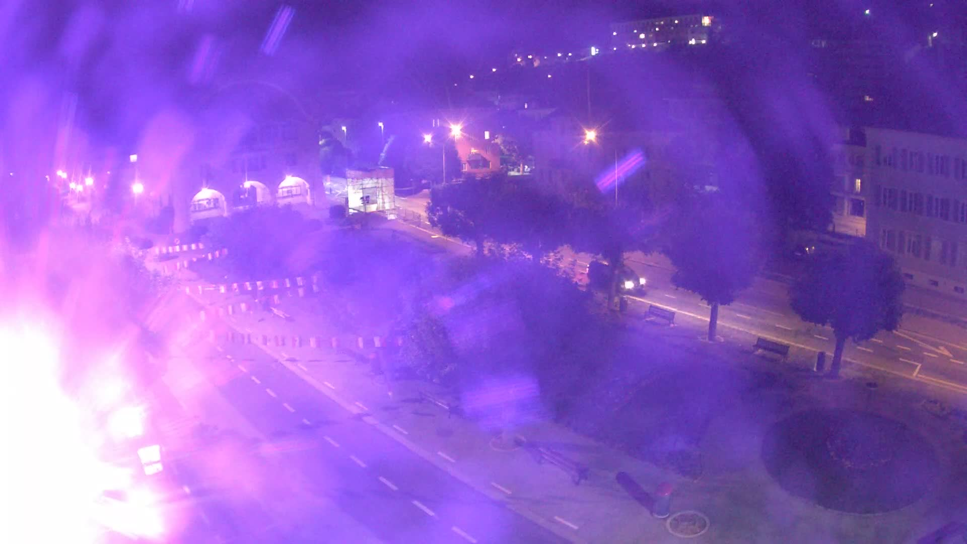 Webcam the Locle, Town Hall - 1047 m alt.