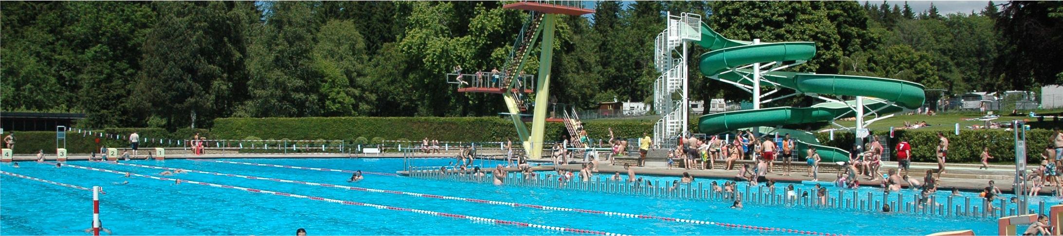 Ouverture de la piscine jeudi 13 mai 2021